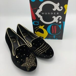 C Wonder Shooting Stars Velvet Loafers